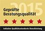 Geprüfte Beratungsqualität 2015